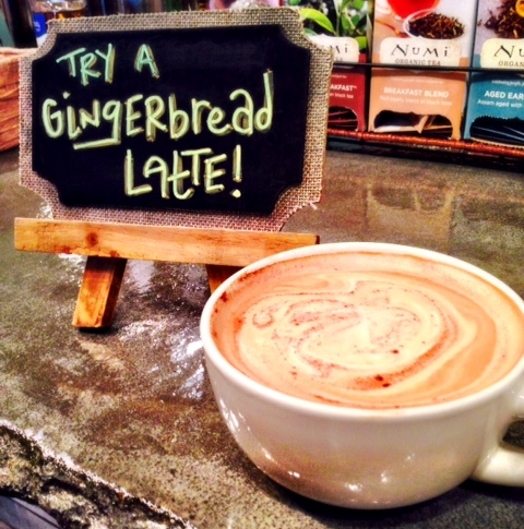 Gingerbread Latte at B2 Cafe – Springfield MO Restaurants
